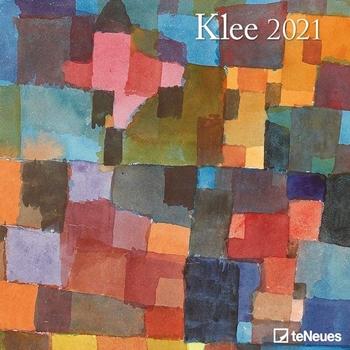 Picture of Klee, Paul : Klee 2021 - Wand-Kalender - Broschüren-Kalender - 30x30 - 30x60 geöffnet - Kunst-Kalender
