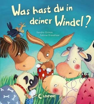 Bild von Grimm, Sandra : Was hast du in deiner Windel?