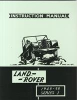 Picture of Land Rover Series 1 Instruction Manual 1948-58 (4277)