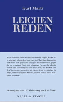 Picture of Marti, Kurt : Leichenreden