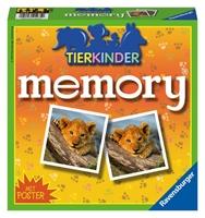 Picture of Hurter, William H.: Ravensburger 21275 - Tierkinder memory®, der Spieleklassiker für Tierfans, Merkspiel für 2-8 Spieler ab 4 Jahren