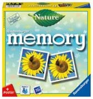 Bild von Hurter, William H.: Ravensburger 26633 - Nature memory®, der Spieleklassiker für alle Natur-Fans, Merkspiel für 2-8 Spieler ab 4 Jahren